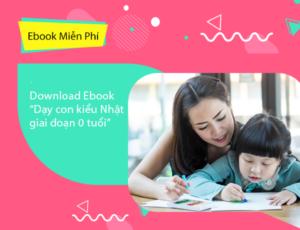 """Download Ebook """"Dạy con kiểu Nhật giai đoạn 0 tuổi"""""""