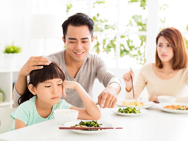 Có rất nhiều nguyên nhân khiến trẻ biếng ăn