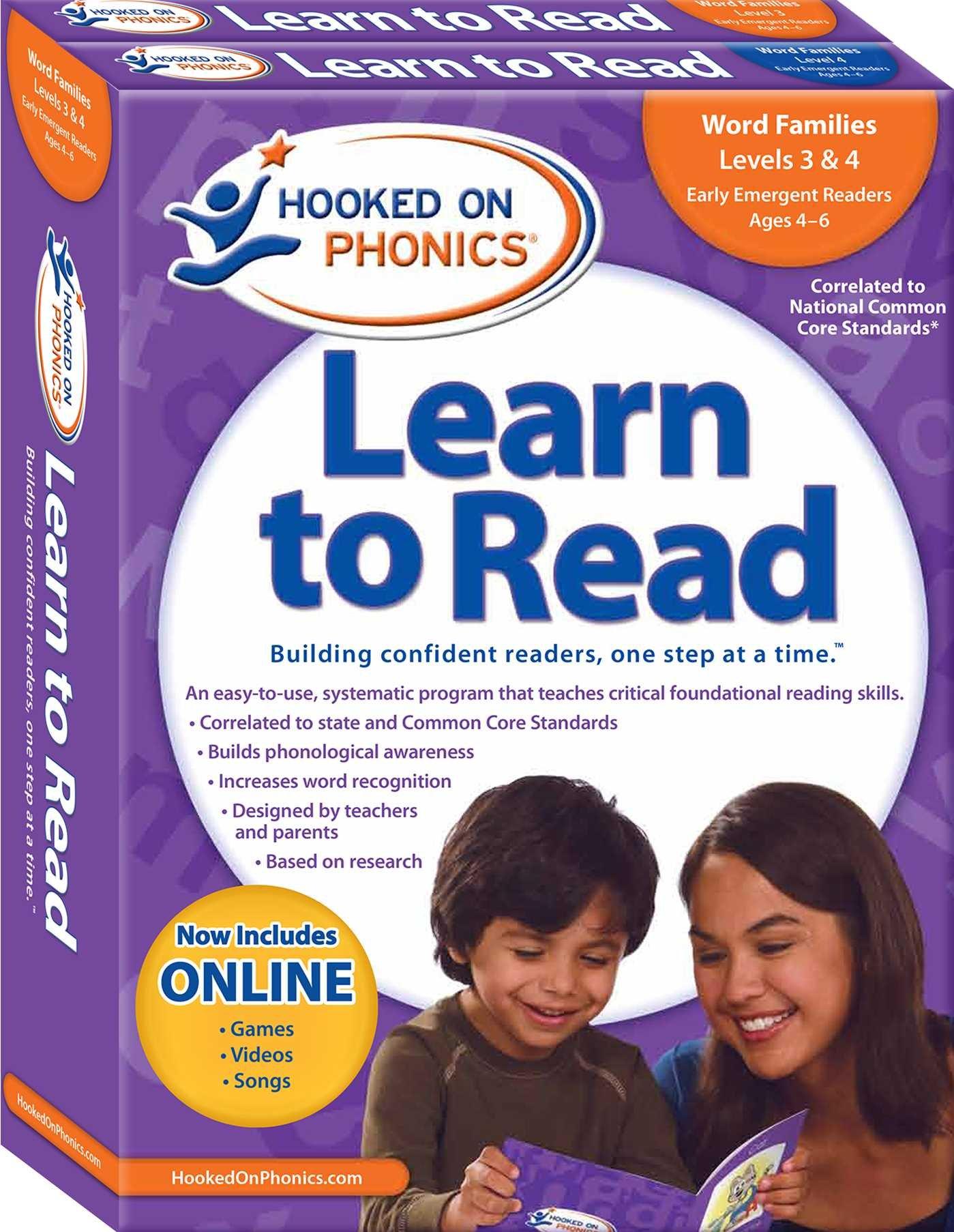 Hooked on Phonics dạy tiếng Anh cho trẻ em theo phương pháp trực quan