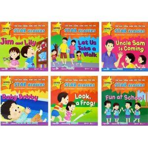 Sách học tiếng anh cho bé: Tập đọc tiếng anh cho trẻ em Star Readers