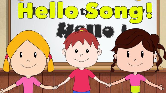 Lựa chọn những bài hát có ca từ đơn giản, sôi động cho bé học tiếng anh