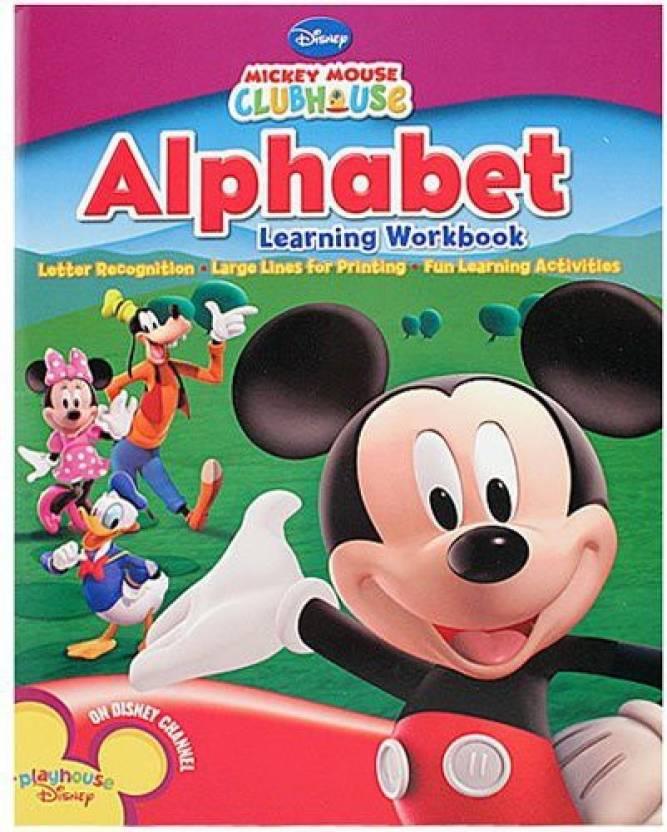 Alphabet Learning Workbook dành cho bé đang trong giai đoạn mới bắt đầu tiếp xúc với tiếng Anh