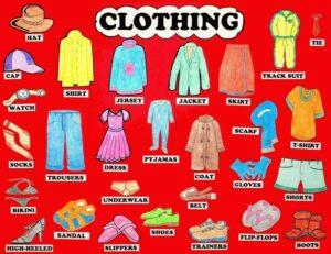 Chủ đề tiếng anh về quần áo sẽ là 1 trong những chủ đề thú vị, hấp dẫn đối với các bé