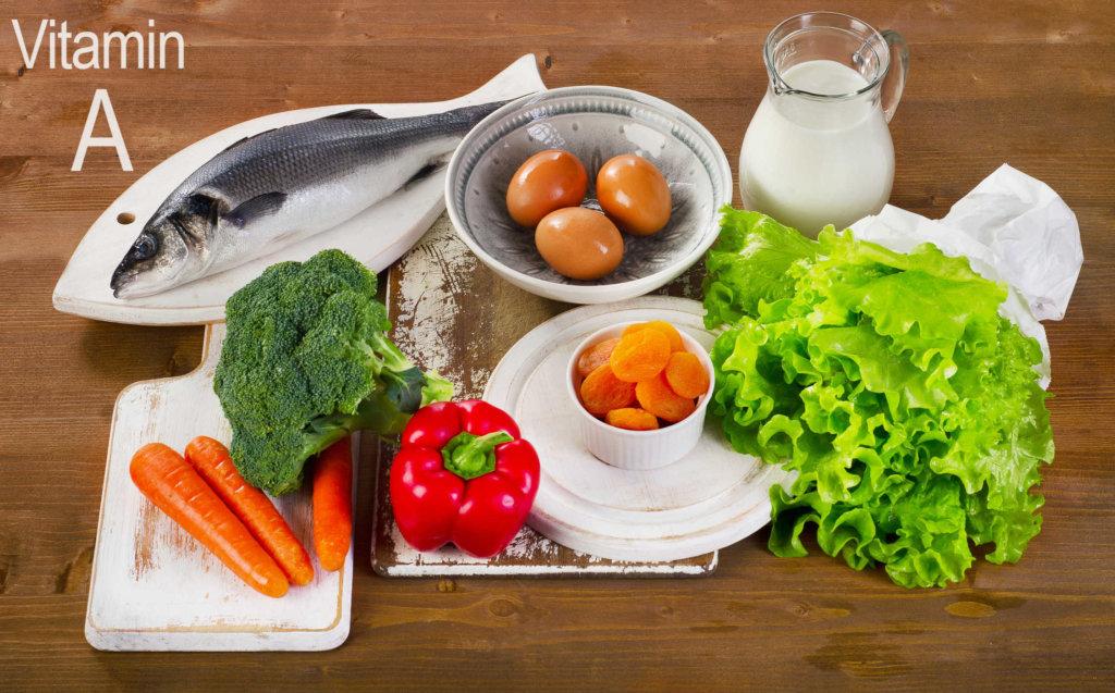 Thức ăn giúp bổ sung Vitanim cho trẻ