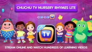 App học tiếng anh cho bé qua video: ChuChu TV Lite