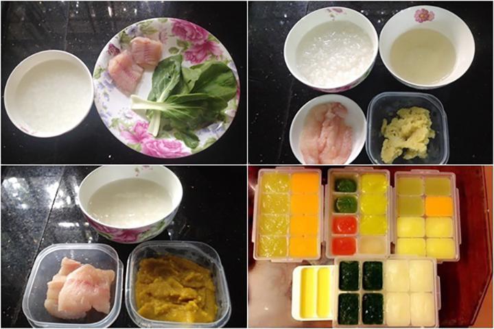 Nên đáp ứng đầy đủ cho con 4 nhóm dinh dưỡng chính khi ăn dặm kiểu Nhật 9 tháng