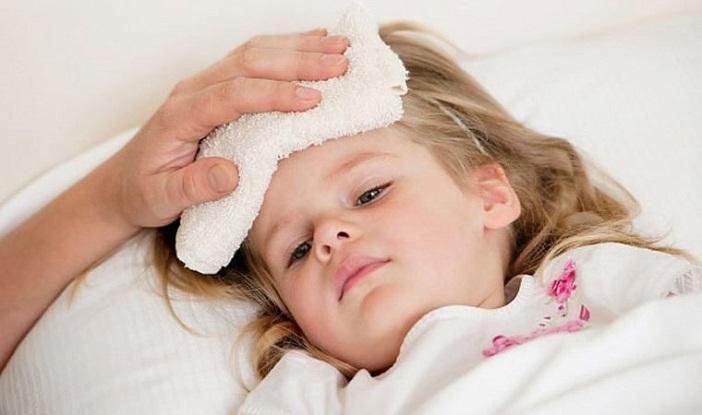 Một trong những bệnh thường gặp ở trẻ là cảm cúm