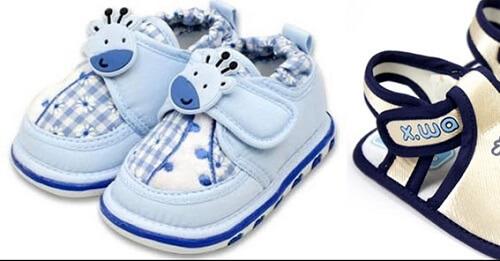 Chọn giày cho bé tập đi để bảo vệ đôi chân bé nhỏ