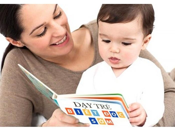 Dạy con biết đọc sớm giúp con hình thành thói quen yêu sách