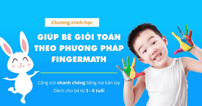 Dạy trẻ học số bằng phương pháp thú vị - Finger Math
