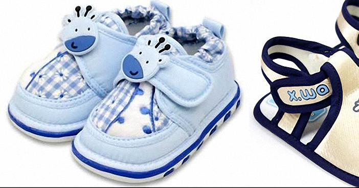 giày tập đi cho bé phải đảm bảo an toàn