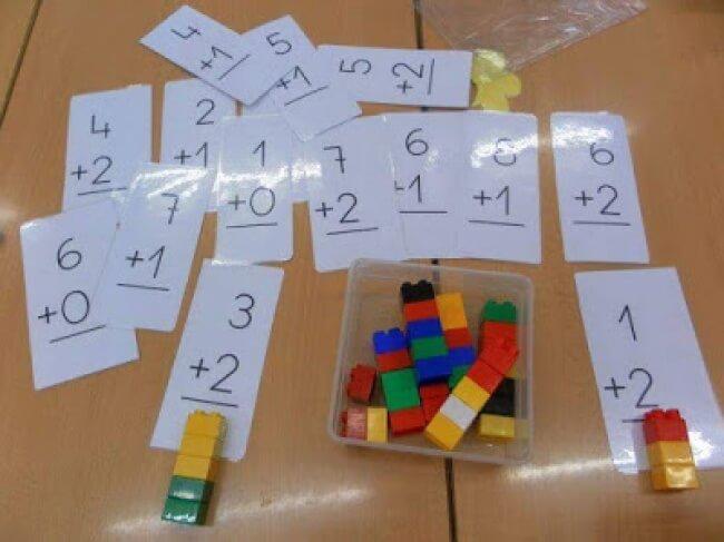 Học toán cộng trừ bằng lego giúp bé dễ hiểu hơn