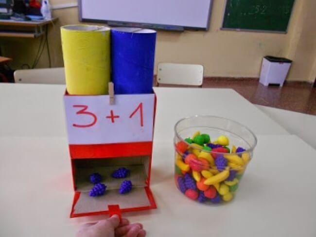 Chiếc hộp thú vị giúp bé học toán cộng trừ hào hứng