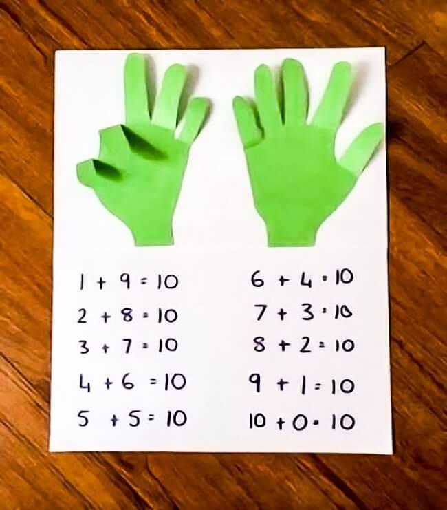 Bé học toán cộng trừ trong phạm vi 10 dễ dàng hơn