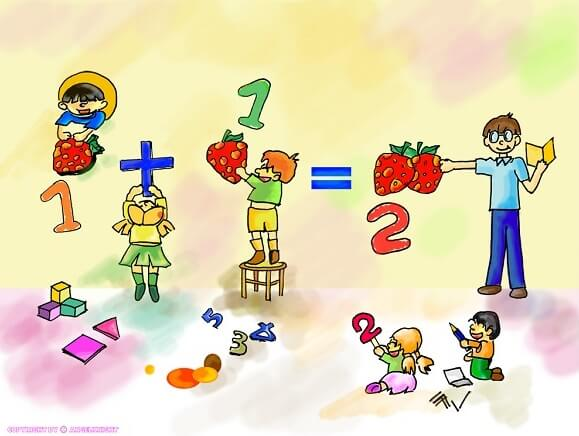 Học toán kiểu nhật