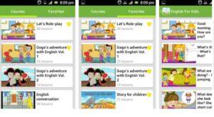 App học tiếng anh cho bé qua hội thoại: English Conversation for Kids