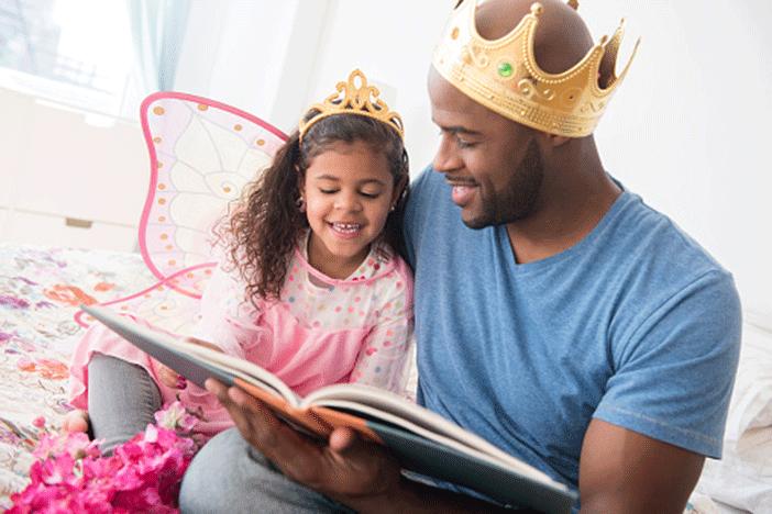 Đọc truyện là một trong những cách nuôi dạy con rất tốt