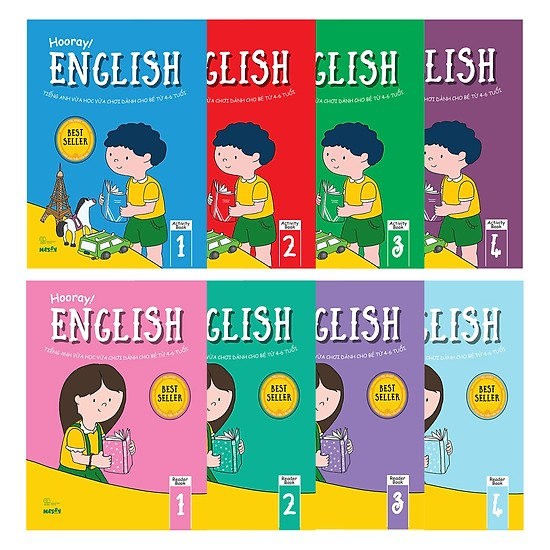 Trọn bộ Hooray English