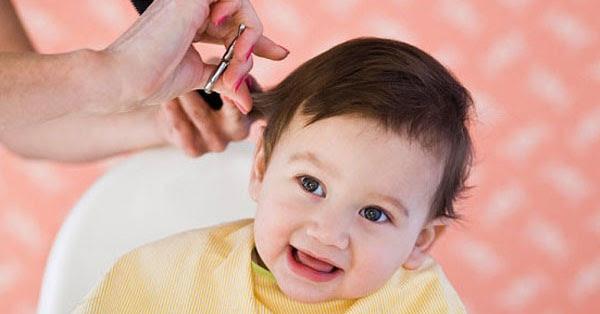 Tác hại cạo đầu cho bé