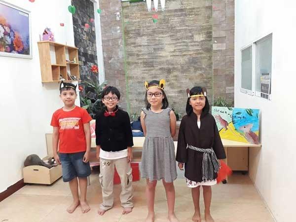 Phương pháp học tiếng Anh cho trẻ mẫu giáo