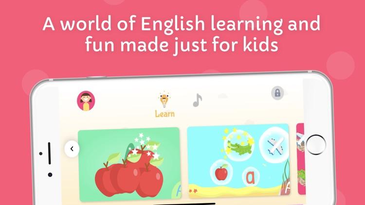 ứng dụng học tiếng Anh cho trẻ trên điện thoại