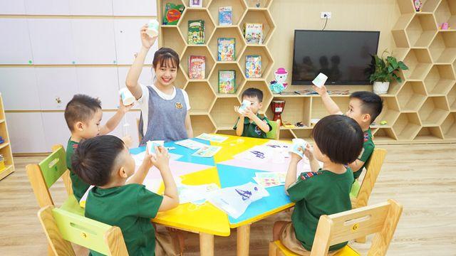 Dạy học tiếng Anh cho trẻ em mẫu giáo