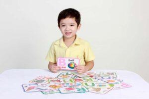 Nguyên tắc khi sử dụng flashcard cho trẻ