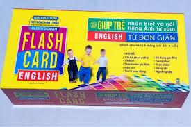Bộ Flashcard học tiếng Anh cho trẻ thông dụng nhất