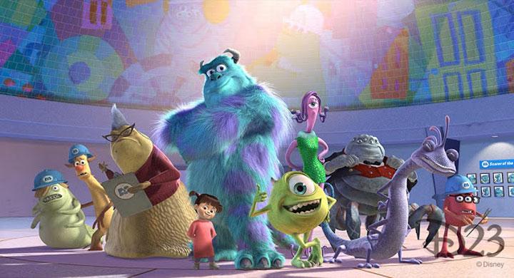 phim hoạt hình monster university