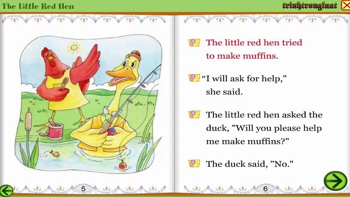 Cổ tích the little red hen