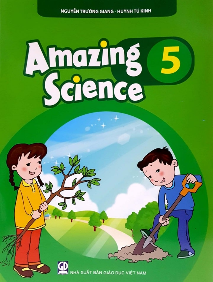 Sách tiếng anh amazing science