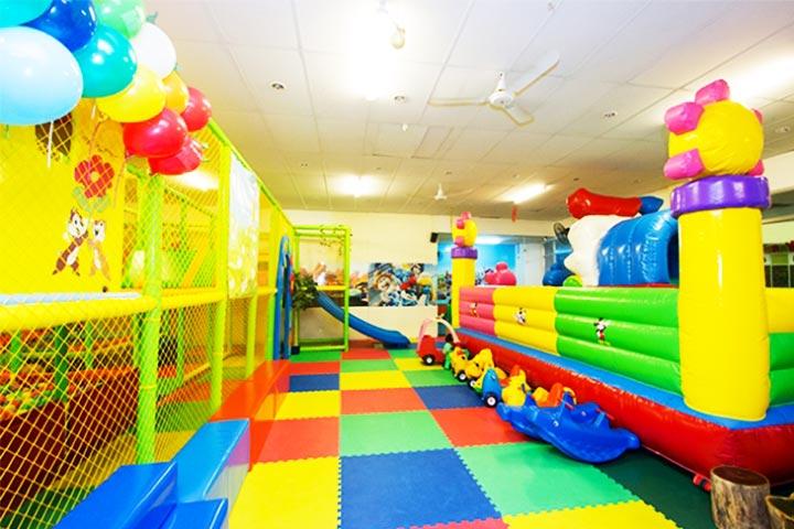 checkin khu vui chơi trẻ em kidsyard