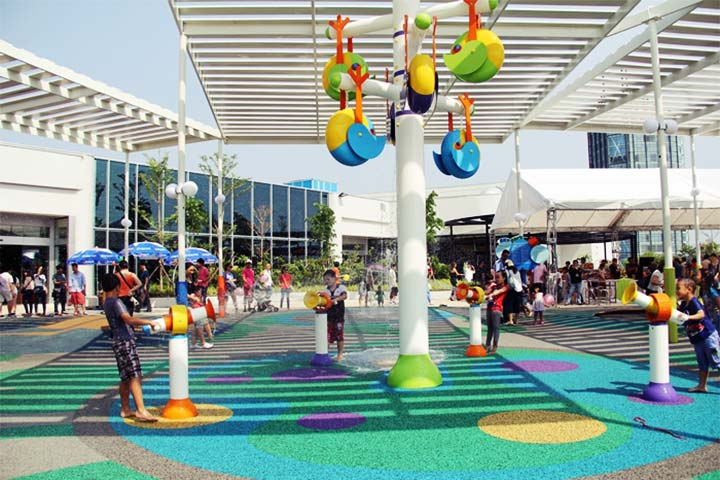 check in khu vui chơi trẻ em sc vivo city