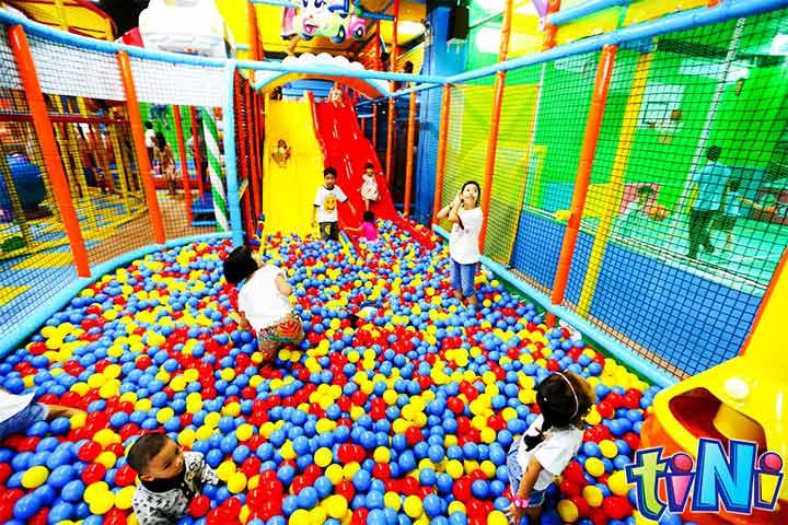 check in khu vui chơi trẻ em tiniworld