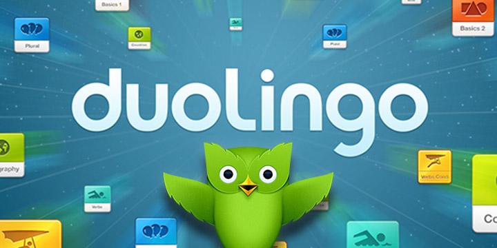 phầm mềm học tiếng anh duolingo
