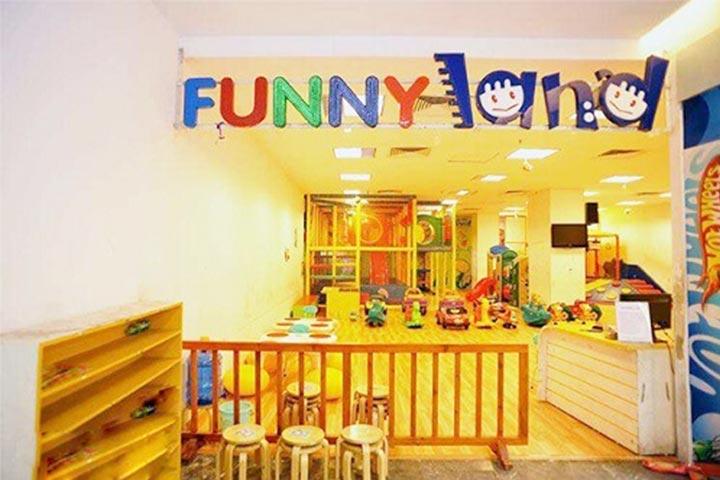review khu vui chơi trẻ em funny land