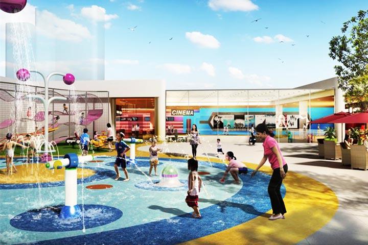 review khu vui chơi trẻ em sc vivo city
