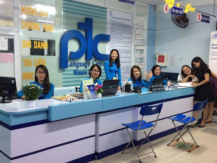 trung tâm anh ngữ PTC language