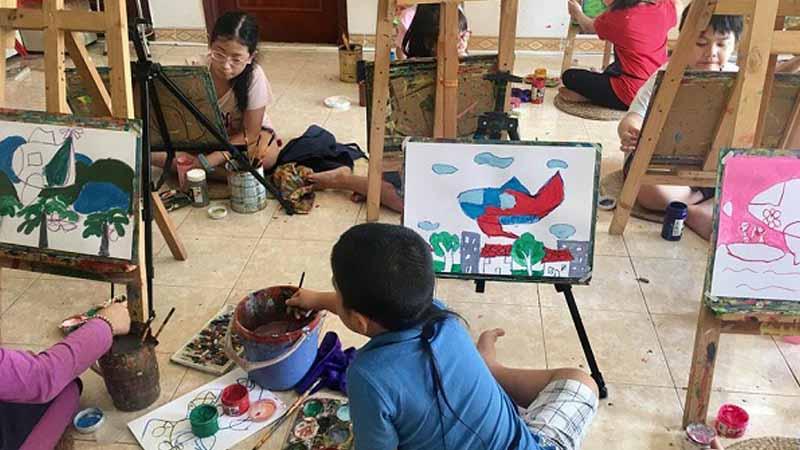 trung tâm dạy vẽ mỹ thuật sài gòn