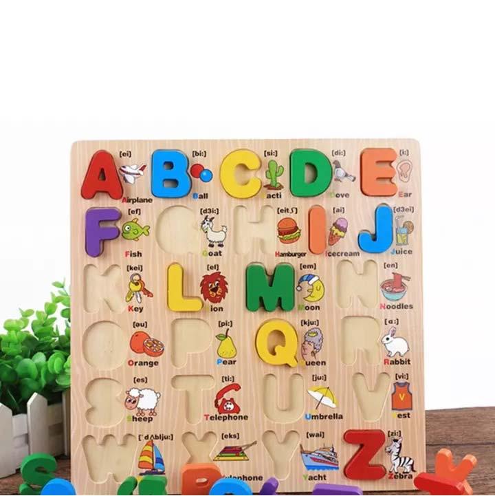 bảng gỗ đồ chơi tiếng anh