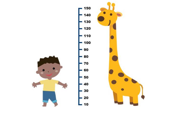 cách đo chiều cao trẻ em