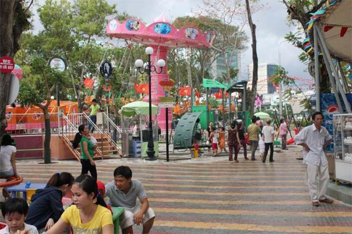 công viên lê thị riêng hcm
