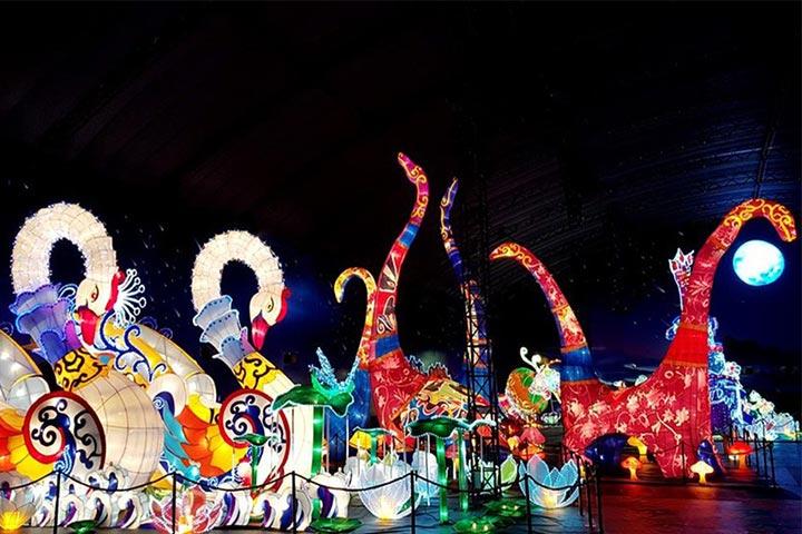 lễ hội đèn lồng aeon mall