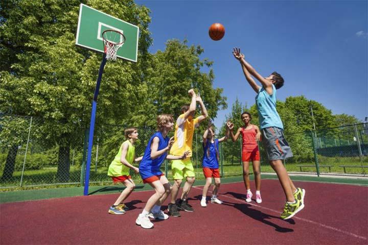 luyện tập thể thao tăng chiều cao trẻ em