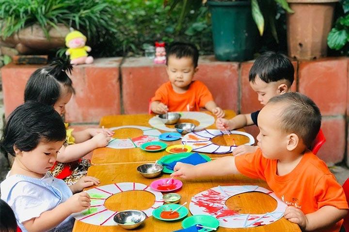 review mầm non thế giới trẻ em