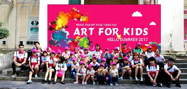 trung tâm dạy vẽ art for kid