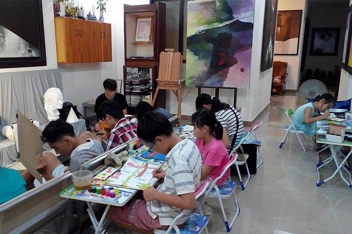 trung tâm dạy vẽ art land