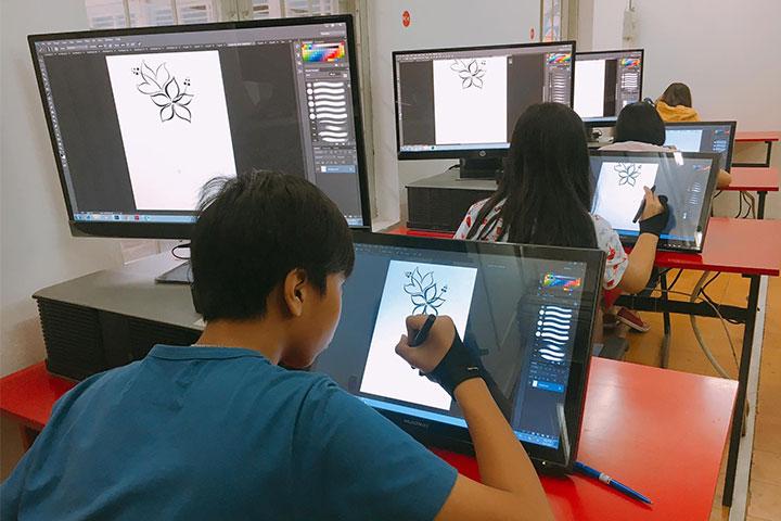 trung tâm dạy vẽ comic media academy