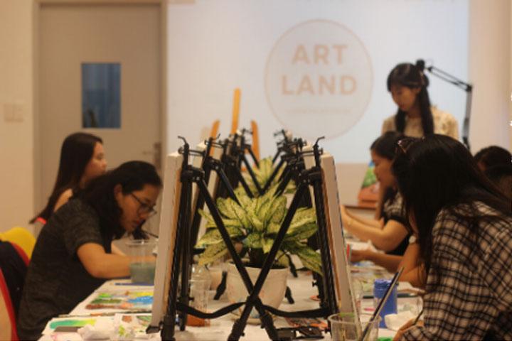 trường dạy vẽ art land