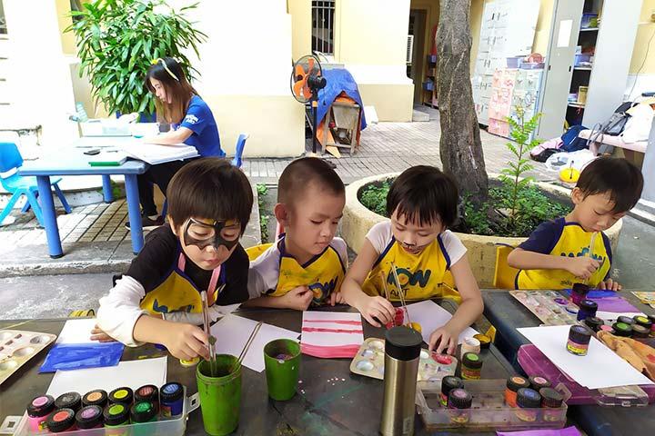 trường dạy vẽ wow art
